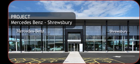 Lovely Mercedes Benz Showroom In Shrewsbury Electrical Installation Services