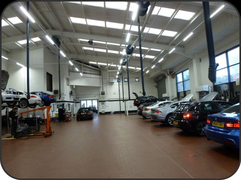 Electrical Lighting And Fire Alarm Installation At Sytner