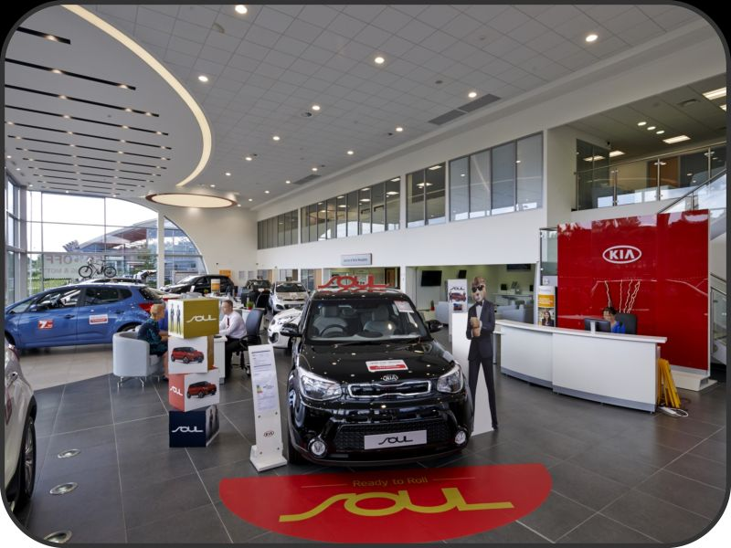 Electrical Lighting And Data Installation At Kia Motors