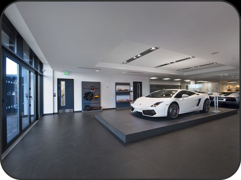 Electrical And Lighting Installation At Sytner Lamborghini