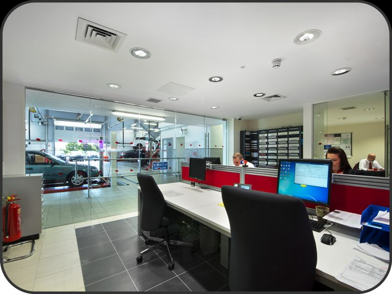Toyota Of Colchester >> Electrical, lighting and fire alarm installation at Lancaster Toyota in Colchester